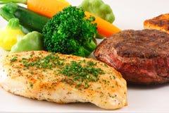宴餐烤了肉 免版税库存图片