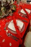 宴餐表 免版税图库摄影