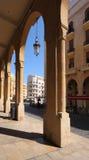 贝鲁特街市黎巴嫩 免版税库存照片