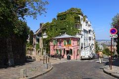 巴黎人的咖啡馆 库存图片