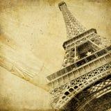 巴黎人的背景 免版税图库摄影