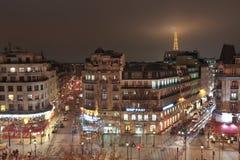 巴黎地平线Nightscene 库存图片
