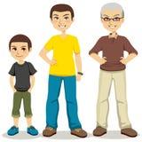 年龄人 免版税库存照片