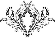 巴洛克式的花束 免版税库存图片