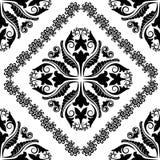 巴洛克式的装饰品 库存图片