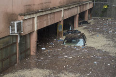 洪水 库存图片