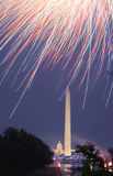 ô de fogos-de-artifício de julho Fotografia de Stock Royalty Free