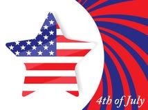 ô do Dia da Independência de julho Fotografia de Stock Royalty Free