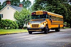 Ônibus escolar Imagens de Stock