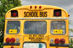 Ônibus escolar Fotos de Stock Royalty Free