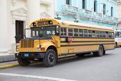 Ônibus escolar Foto de Stock