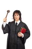 0 θηλυκός δικαστής Στοκ φωτογραφία με δικαίωμα ελεύθερης χρήσης