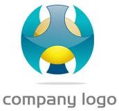 0 Ιστός 2 λογότυπων Στοκ φωτογραφία με δικαίωμα ελεύθερης χρήσης