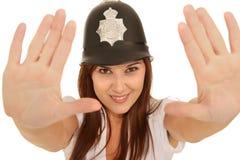 0 φανείτε αστυνομικίνα αρ&kap Στοκ Εικόνα