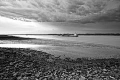 0 χαμηλός καιρός παλίρροιας Στοκ φωτογραφία με δικαίωμα ελεύθερης χρήσης