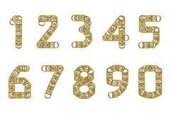0 кец тяги 9 номеров чонсервных банк Стоковая Фотография
