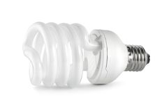 0 сбережени путя lightbulb jpg энергии дневных Стоковое Изображение RF