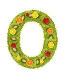 0 цифров плодоовощ Стоковые Фотографии RF