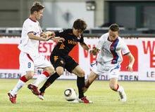 0 1 как vasas roma футбольной игры против Стоковое Фото