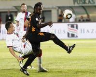 0 1 как vasas roma футбольной игры против Стоковые Изображения RF