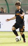 (0) (1) jako mecz futbolowy Roma vasas vs Obraz Stock
