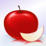 0 2个苹果版本 向量例证