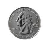 0 25 coin s u Fotografering för Bildbyråer