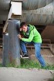 0 νεαρός άνδρας Στοκ φωτογραφία με δικαίωμα ελεύθερης χρήσης