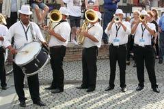 Ορχήστρα πνευστ0ών από χαλκό Στοκ φωτογραφία με δικαίωμα ελεύθερης χρήσης