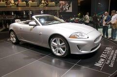 0 5 2009 v8 för show för geneva jaguarmotor xk Arkivbild