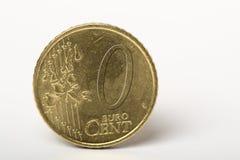0 centesimi Fotografia Stock Libera da Diritti