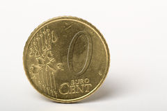 0 cents Photographie stock libre de droits