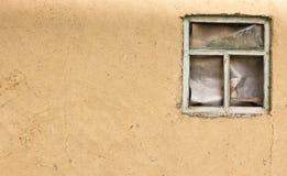 (0) glinianego jpg starych tekstury rocznika ściany okno Obraz Royalty Free