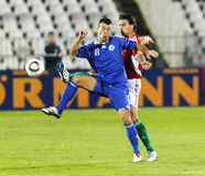 0 marino san 8 Венгрия против Стоковые Изображения