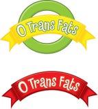 0 Trans Fat stock illustration