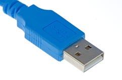 0 usb компьютера кабеля 2 син Стоковое Изображение RF