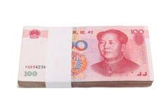 000 10 yuan Arkivfoton