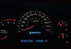000 100 миль Стоковое фото RF