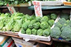 00001香港市场 免版税库存照片