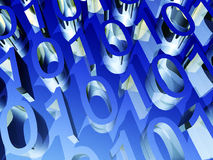 0001. This is some binary numbers Royalty Free Stock Photo