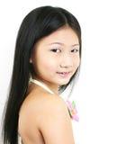 0001 asiatiska barnbarn Arkivbild
