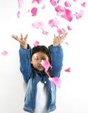 0001 asiatiska barnbarn Royaltyfria Bilder