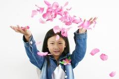 0001 asiatiska barnbarn Fotografering för Bildbyråer