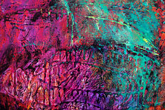 0001 grunge油漆 免版税图库摄影