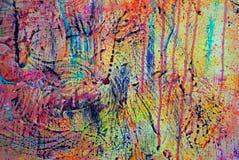 0006 grunge油漆 库存图片