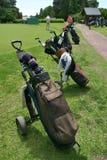 0008 de bolsas golfa palos Zdjęcia Royalty Free