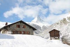 0009 zermatt Obraz Royalty Free
