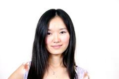 001个亚洲人女孩年轻人 免版税图库摄影