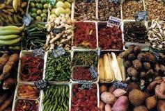 001巴塞罗那boqueria果菜类 免版税库存照片