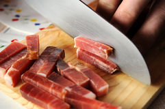 001猪肉 库存图片